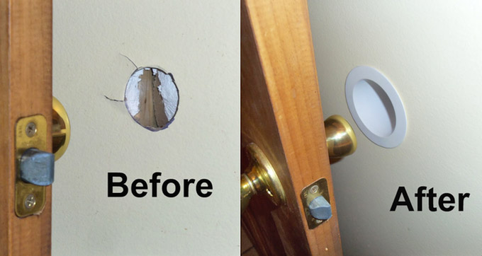 Knob Gobbler Protects Your Doors From Damaging Your Walls
