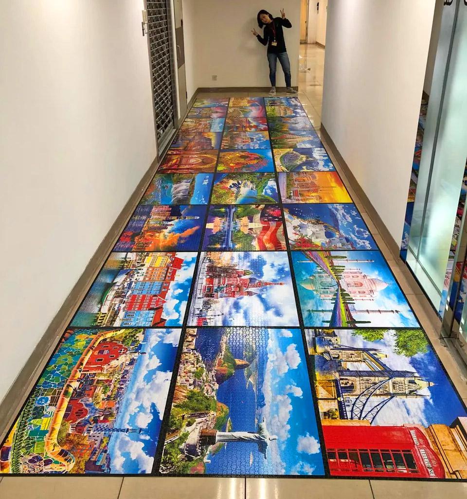 Kodak World's Largest Jigsaw Puzzle - Massive 51,300 piece jigsaw puzzle