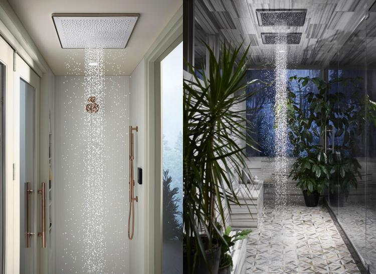 Kohler Real Rain Shower Head Simulates a Real Summer Rain Shower - Best Rain drop shower head