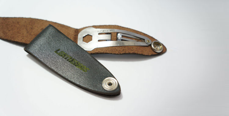 Leatherdos is a Hair Clip Multi Tool
