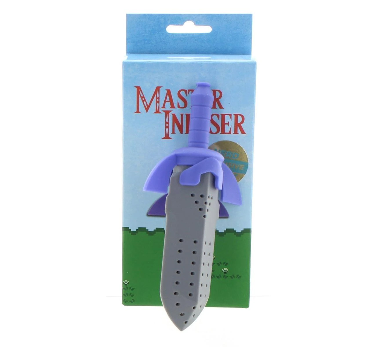 Legend of Zelda Master Sword Silicone Tea Infuser - Link's sword geeky tea infuser