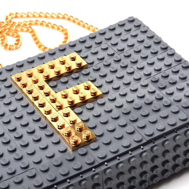 Lego Purses made by Agabag - Lego Clutch - Lego bag made from actual Lego blocks