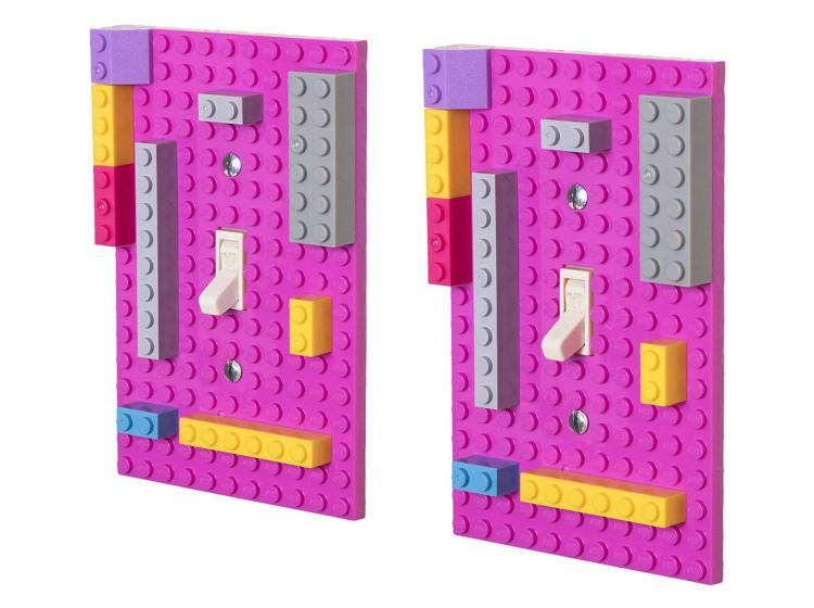 Lego Light Switch - Building Block Light Switch Plate