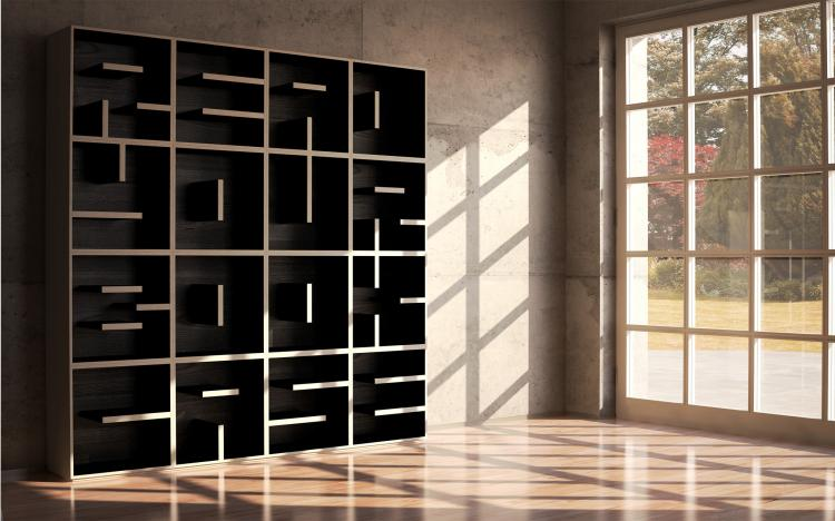 ABC Bookshelves - Letter Shaped Bookshelves let you spell out any words you like