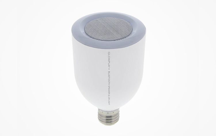 Glow Play Smart LED Light Bulb Speaker