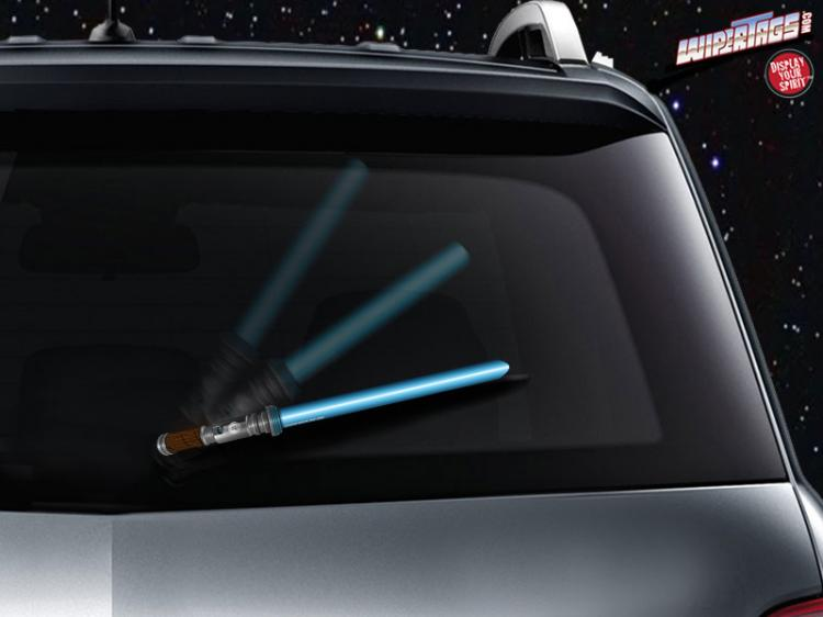 Star Wars Light Saber Rear Wiper Blade Attachment