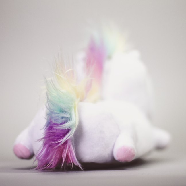 Unicorn Slippers With Lights - Light-up unicorn slippers