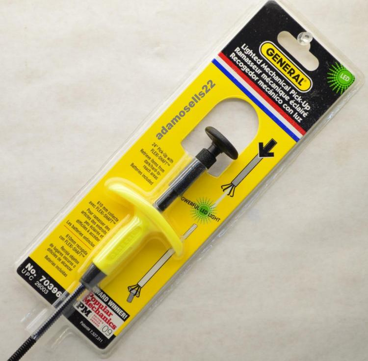 Lighted Pickup Grabber Tool - Pick-up tool with LED light