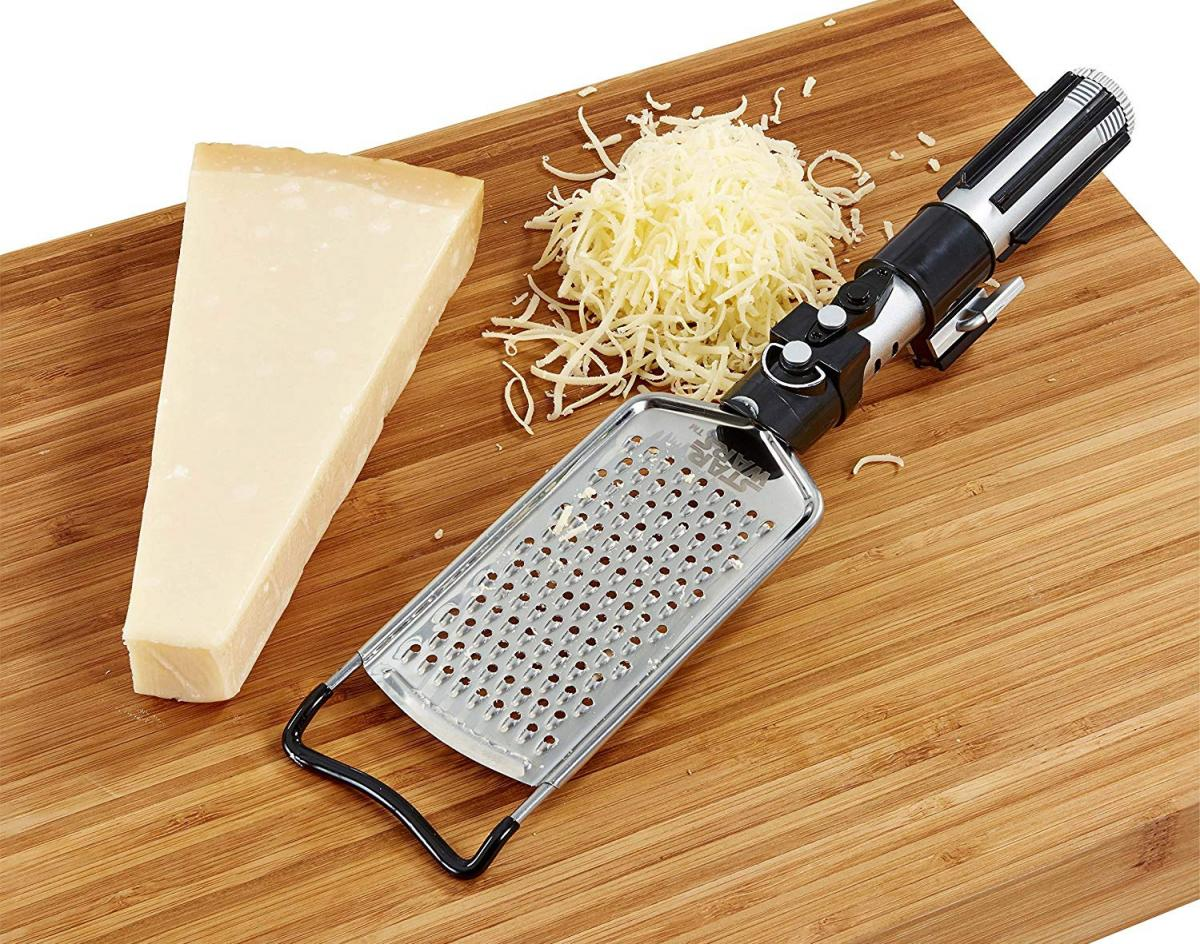 Star Wars Lightsaber Cheese Grater - Darth Vader Geeky Cheese Grater