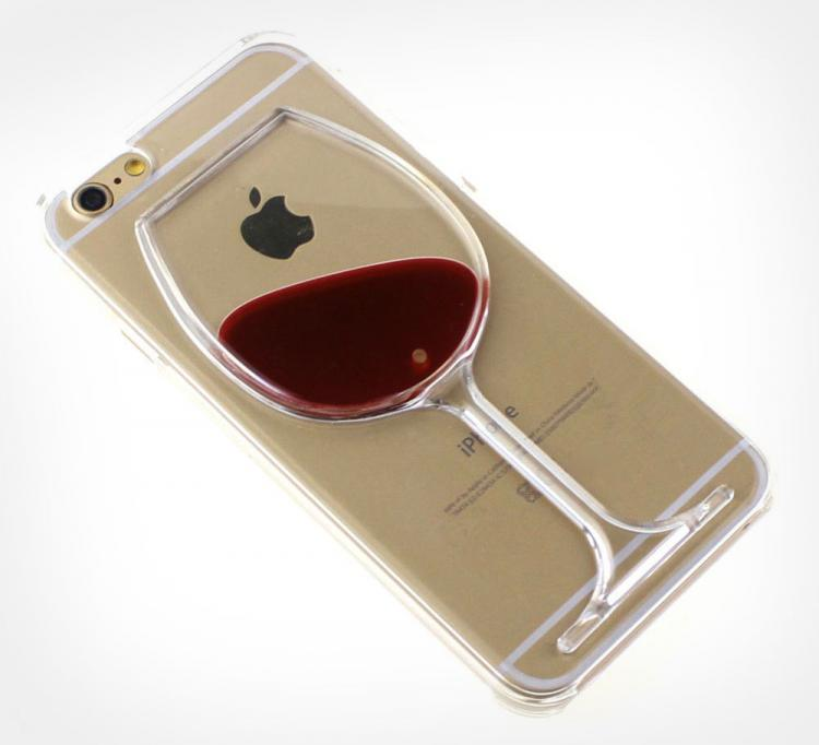 wholesale dealer 5b434 9370f Liquid Red Wine iPhone Case
