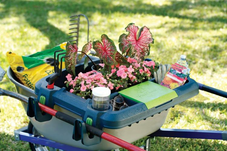 Little Burro Wheelbarrow Organizer