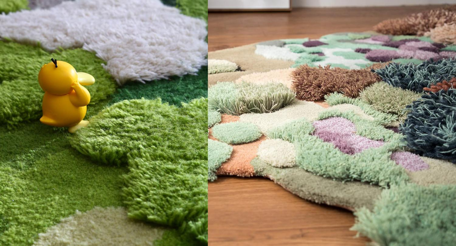 Little Forest 3D Rugs - Ultimate Playroom Rug - 3D Forest Nature Rug