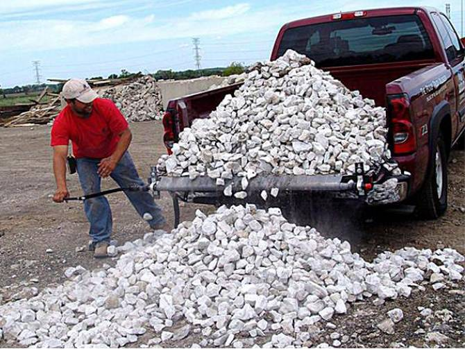 Load Handler Rolling Truck Bed Tarp Unloader - Easiest truck bed unloading tool