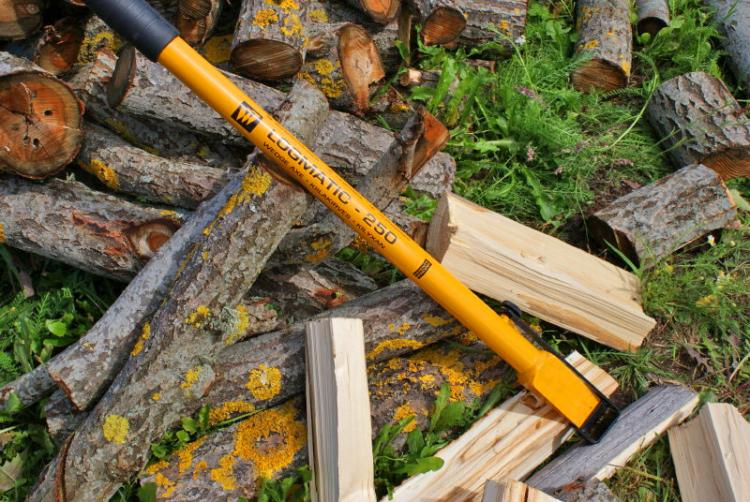 Logmatic Wedge Axe Slide Hammer Wood Splitting Axe