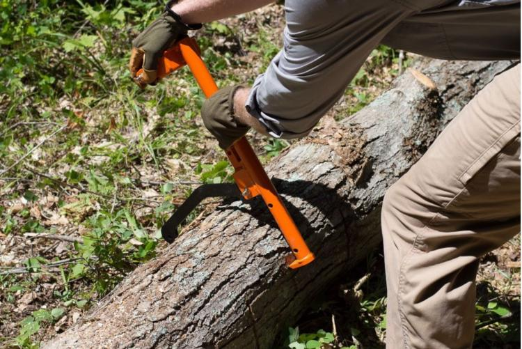 LogOX 3-in-1 Back-Saving Forestry Multi-tool - Incredible chainsaw lumber multi-tool