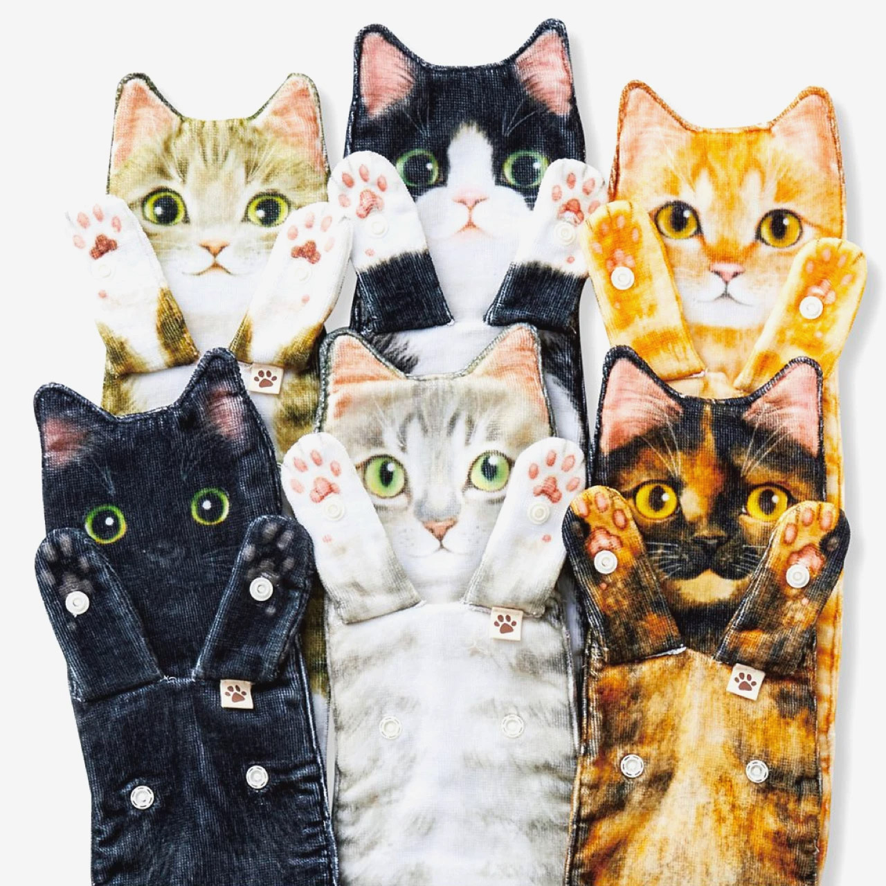 These Long Cat Shaped Towels Are For When You Reach Cat Lady Level 1000