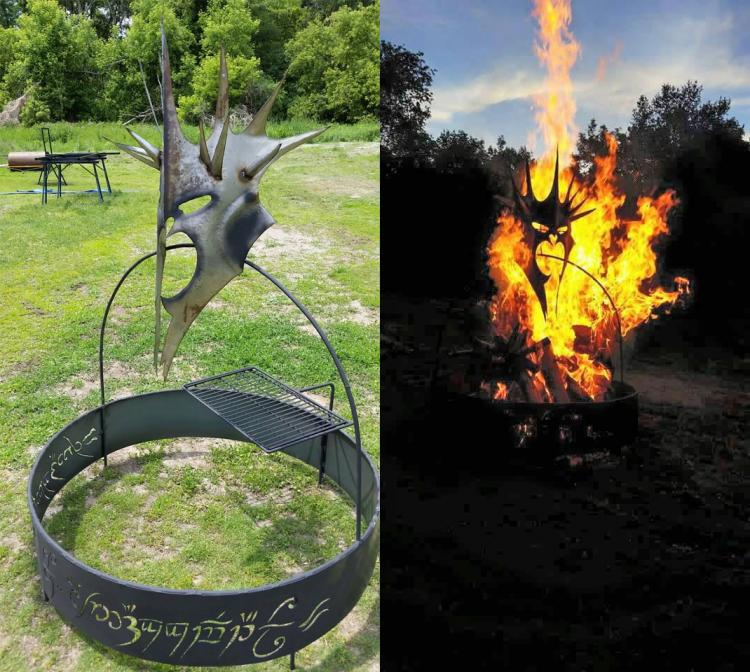 DIY Awesome Fire Pit  YouTube