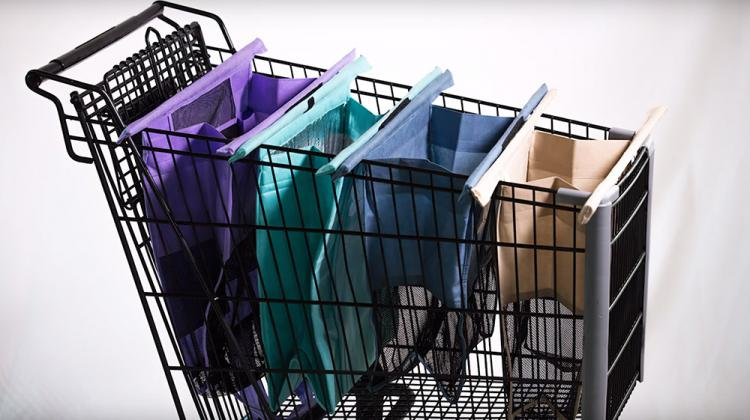 Lotus Trolley Bags: Reusable Grocery Store Bags That Attach To Cart