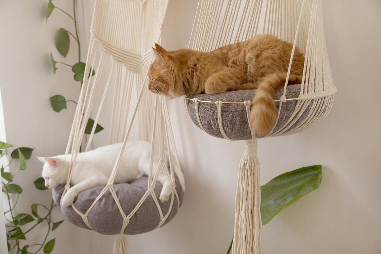 Macrame Cat Bed