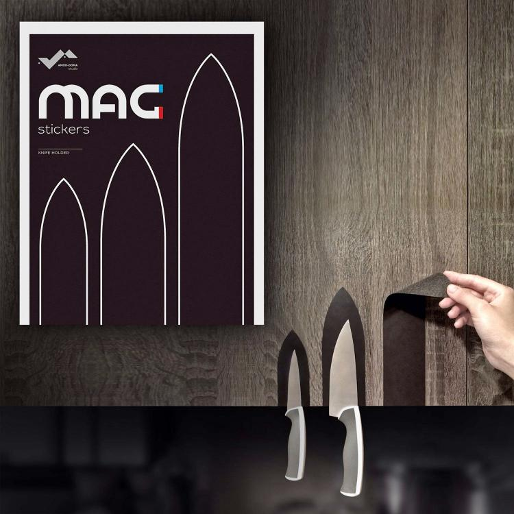 mag stickers magnetic knife holders