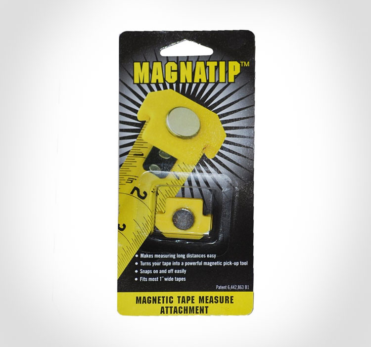 Magnatip Is A Magnetic Tape Meaure Attachment