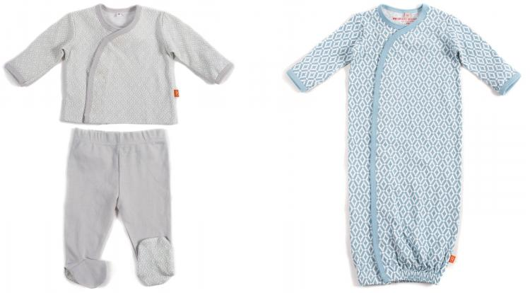 Magnetic Baby Clothing - Magnetic baby onesies - Magnetic baby pajamas