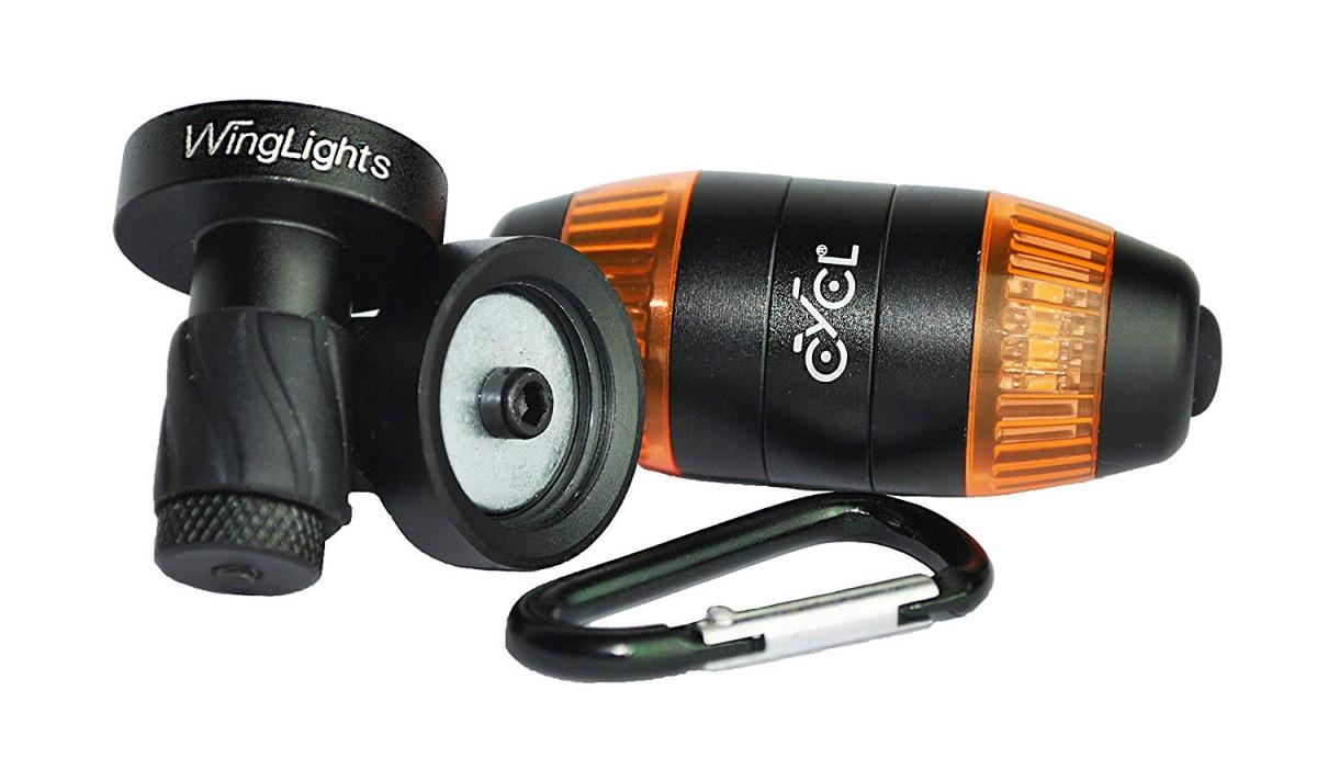 CYCL Winglights - Bicycle Handlebar turn signals - Snap on bike safety lights and turn signal