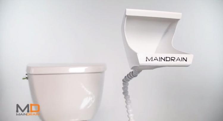Main Drain Urinal Attachment For Toilet