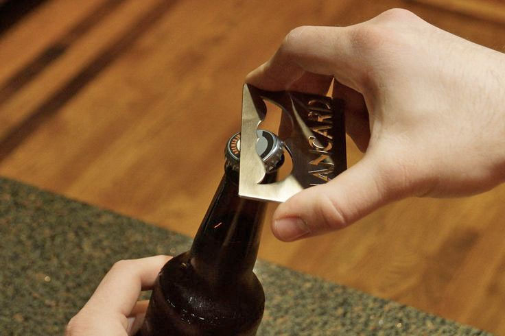 Man Card Mustache Bottle Opener