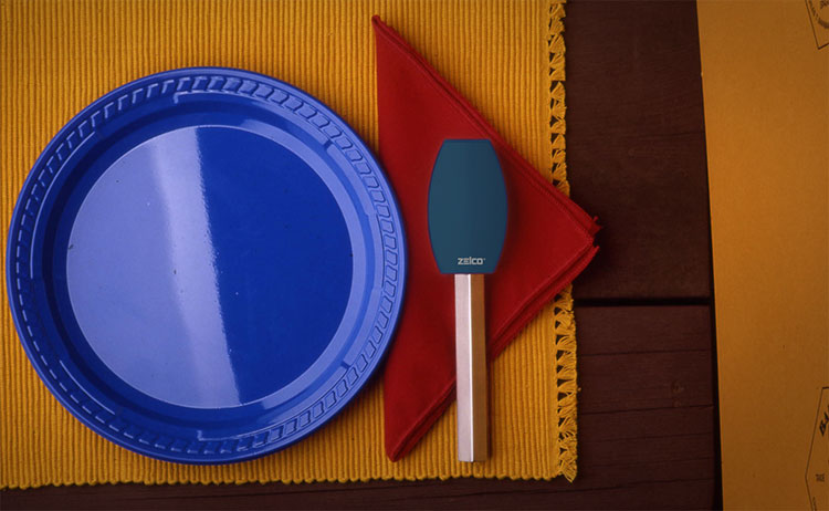 Portable Silverware Set With Holder