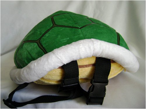 Koopa Shell Backpack - Super Mario Koopa Shell Bag