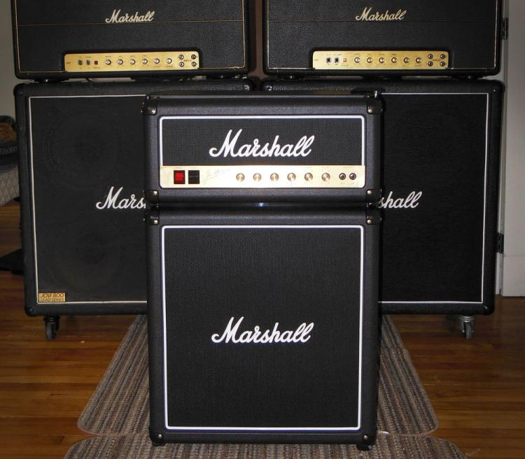 Marshall Amplifier Mini Fridge