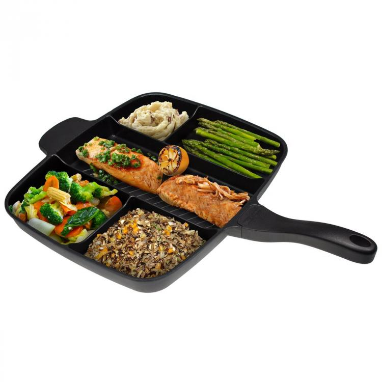 Master Pan All-In-One Skillet Pan - Cook entire meal using one pan