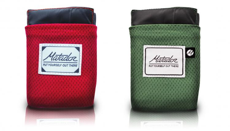 Matador Pocket Blanket Unfolds Into a Full-Sized Blanket - Tiny Key-chain blanket - Emergency key-chain blanket