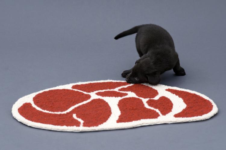 Meat Shaped Dog Rugs