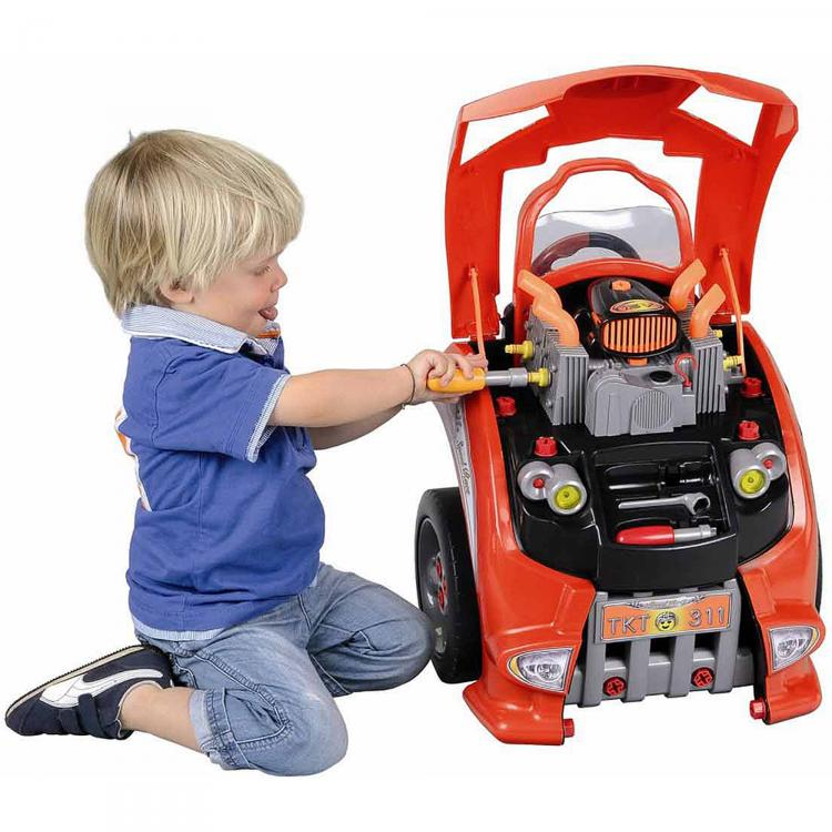 Mechanic S Toy Car Teaches Your Kid To Take Care Of A Car