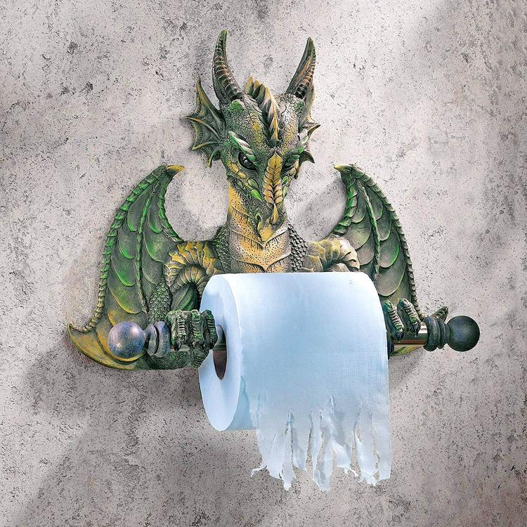 Medieval Dragon Toilet Paper Holder