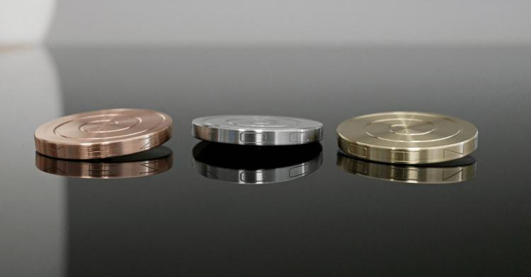 MezmoCoin Is an Mesmerizing Spinning Top That Spins For Over 12 Minutes - Incredible long lasting spinning coin fidget toy