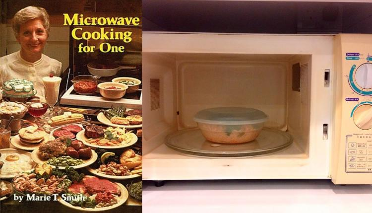 Microwave Cooking For One Cook Book - Microwaving for one lonely recipe book