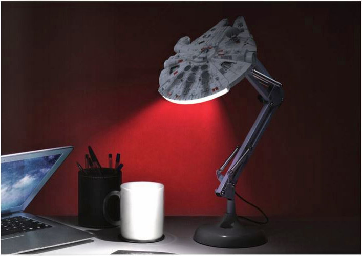 Millennium Falcon Posable Desk Lamp