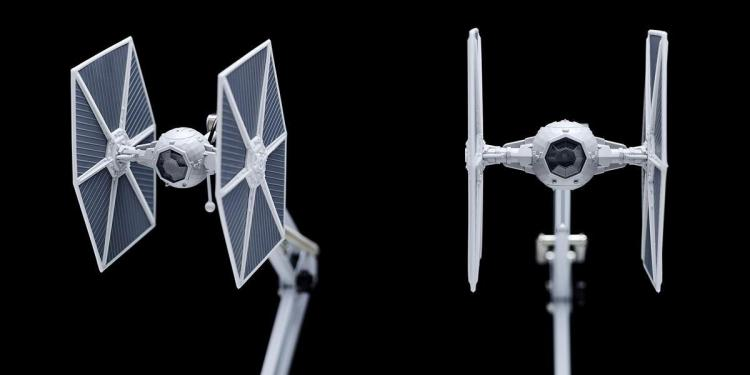 Tie Fighter Posable Desk Lamp