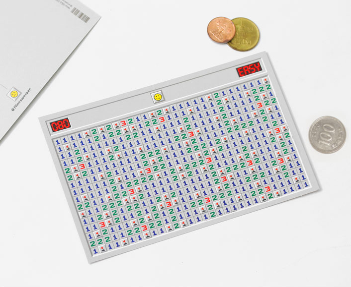 Minesweeper Scratch Off Game