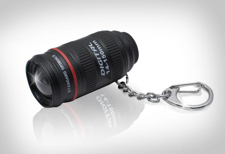 Mini Camera Lens Flashlight