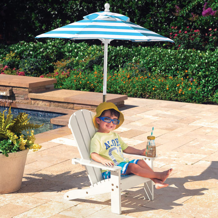 Mini Kids Outdoor Patio Furniture   Tiny Kids Pool Furniture   Kids Umbrella  Pool Chair