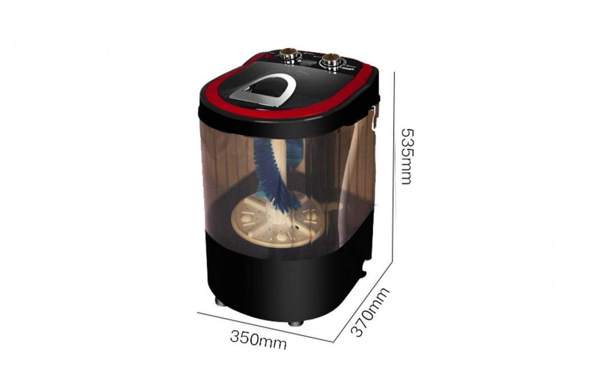 Mini Shoe Washing Machine - Mini washing machine cleans up to 4 pairs of shoes at a time