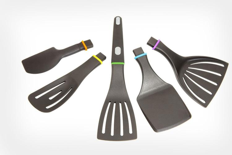 This Modular Spatula Handle Can Use 5 Different Kitchen