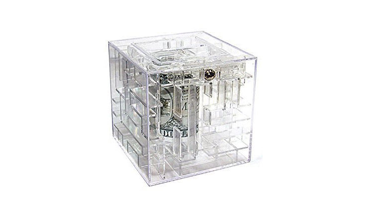 Money Maze Piggy Bank Puzzle