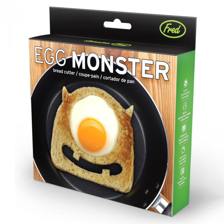 Monster Toast Cutter - Monsters Inc Toast and Egg Maker