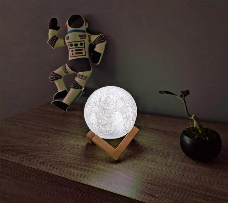 Touch Activated Moon Night-light