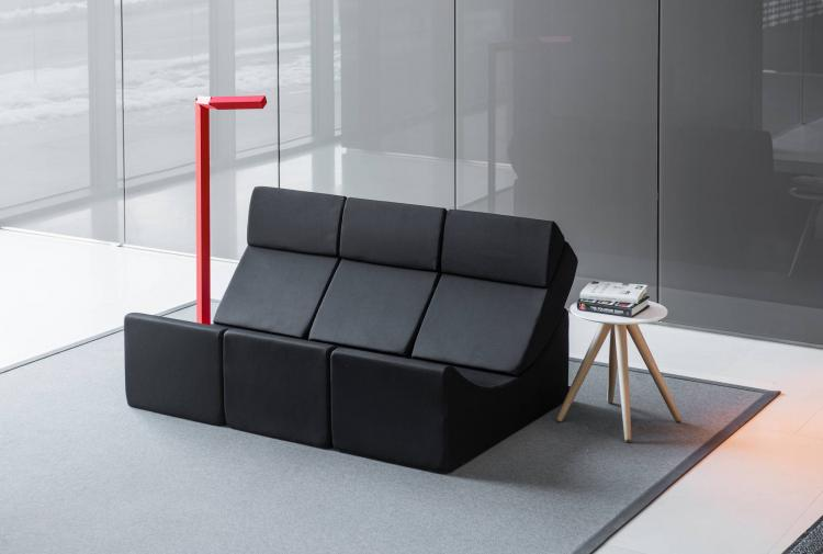 Lina Moon Chaise Lounge Lets You Create Many Different Arrangements - Unique multi-use lounger chair